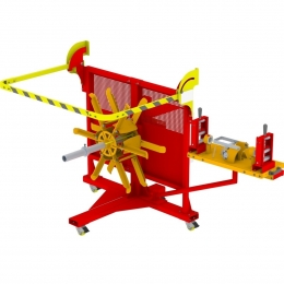 Máquina Para Bobinar e Formar Rolos de Fios e Cabos MDK 150 R2 Cod. 3960