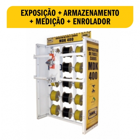 Expositor de Fios e Cabos MDK 400 Cod. 502502